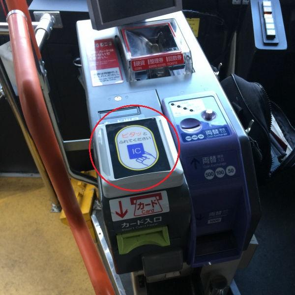 Mesin untuk IC card pada bus
