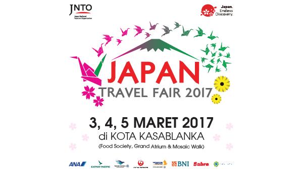 Promo Japan Travel Fair Spring Summer Season 2017 Liburan Ke Jepang