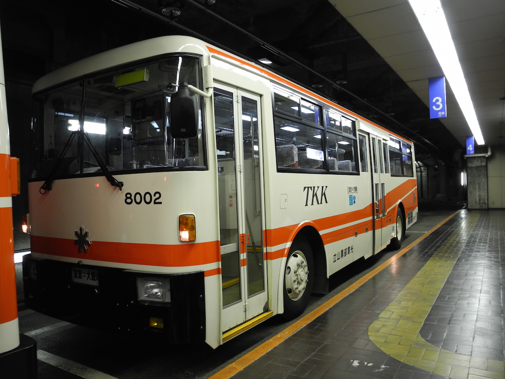 tateyama trolley bus