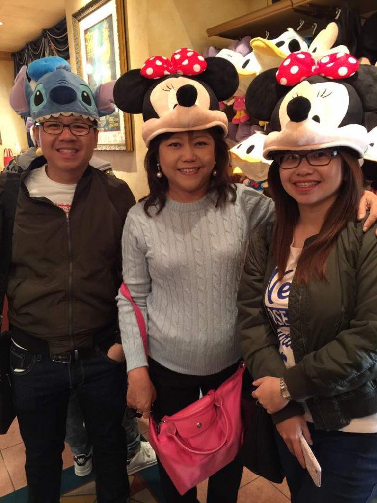 at Tokyo Disneyland