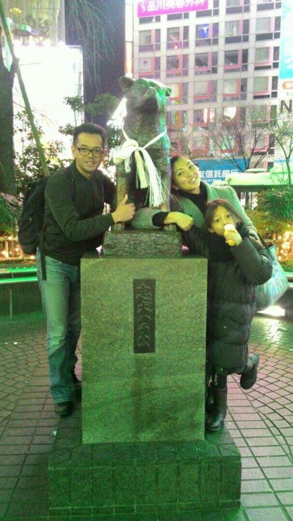 @ Patung Hachiko, Shibuya