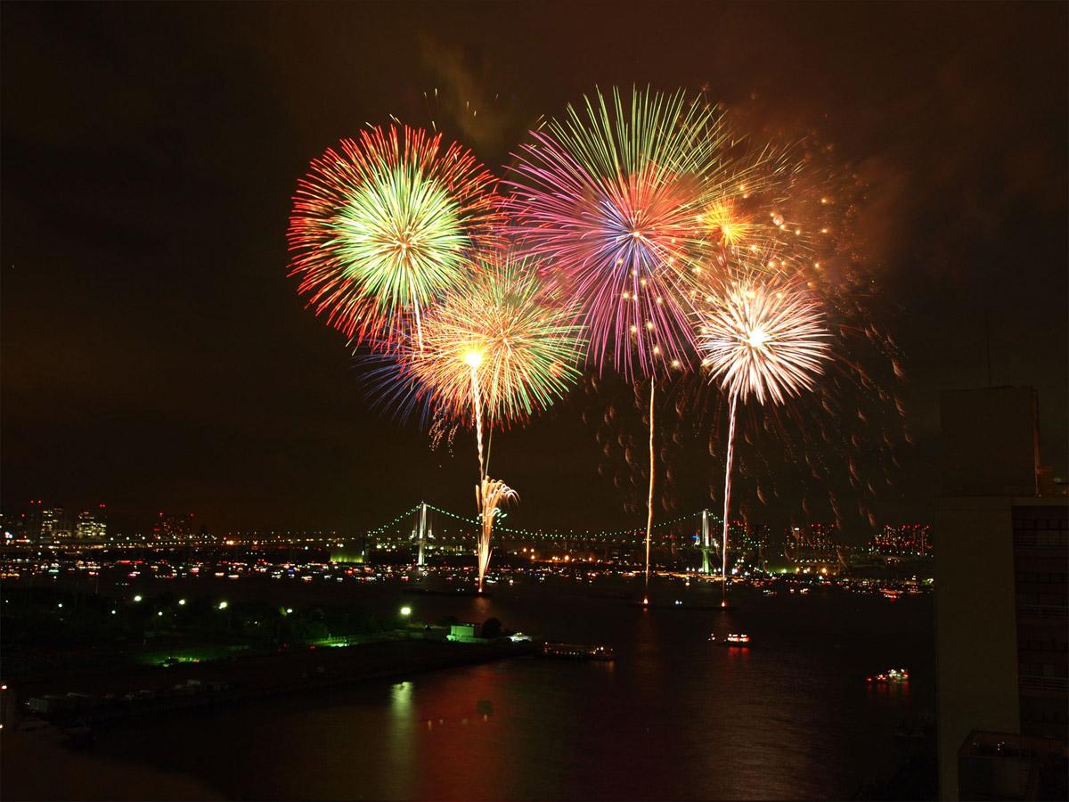 Sumida River Fireworks Festival, Tokyo Japan