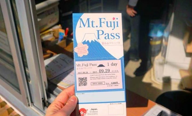 Mt Fuji Pass Satu Tiket Untuk Perjalanan Menjelajahi Gunung