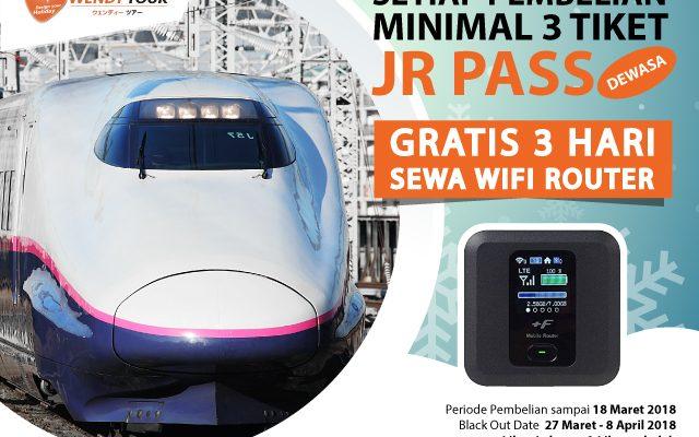 JR Pass gratis router