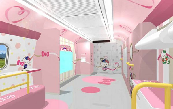 West Japan Railway Company, Sanrio Co.Ltd