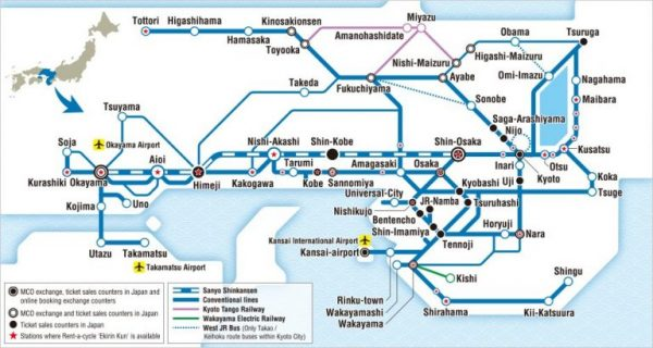 kansai wide area map