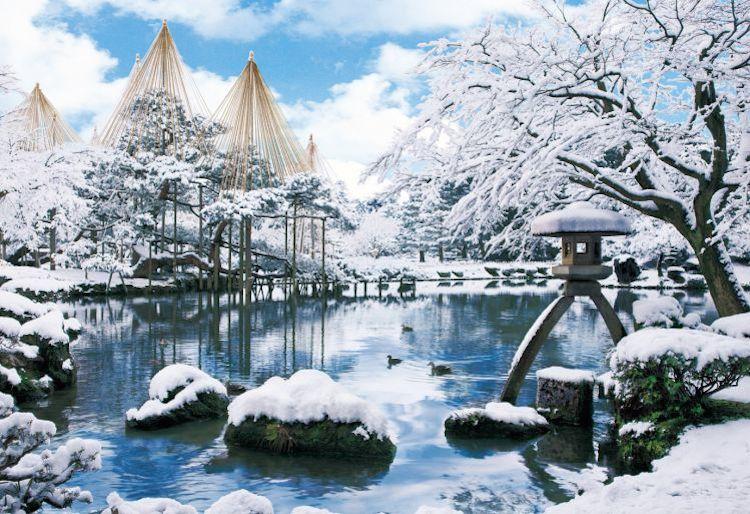 kenrokuen winter