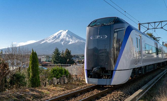 Kereta limited express Fuji Excursion
