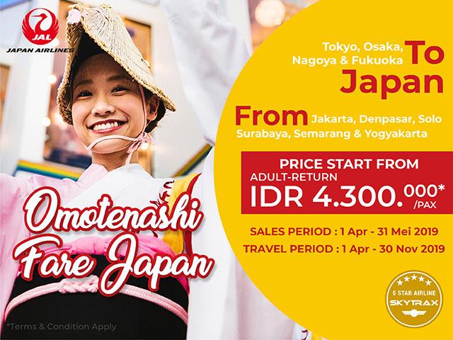 Promo Berburu Tiket Pesawat Murah Ke Jepang Mulai Dari Rp 4