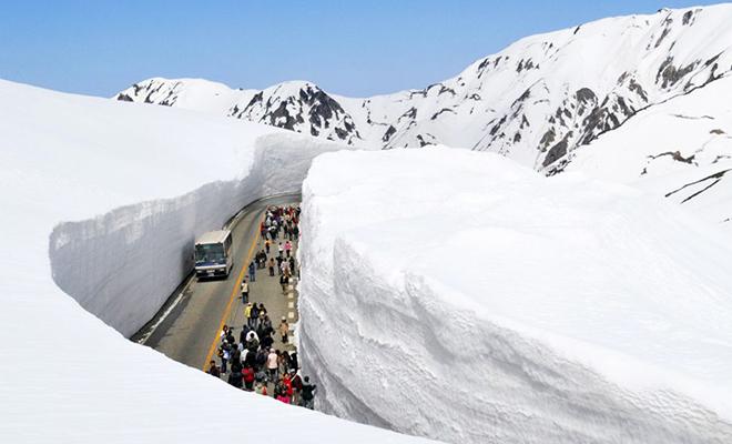 tembok salju