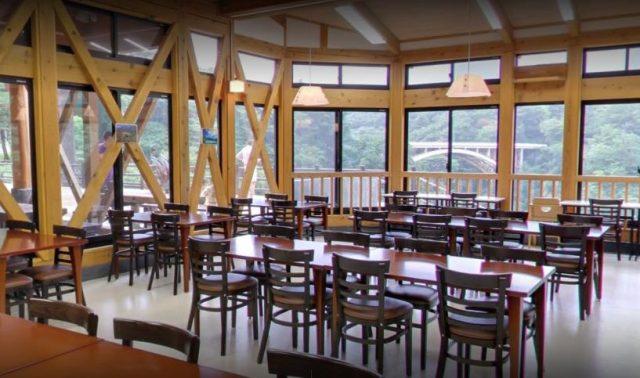 Area Makan Naruko Rest House