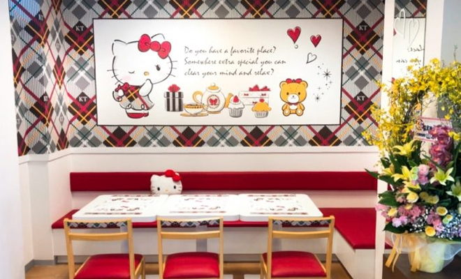 otaru cafe x hello kitty2